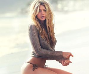 beach, famous, and blonde image