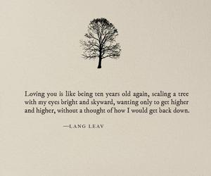 quotes, poetry, and Lang Leav image