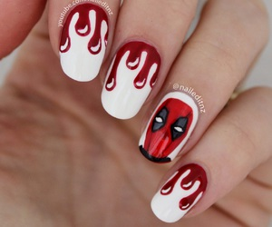 deadpool, drips, and nails image
