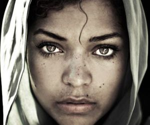 beautiful, face, and portrait image