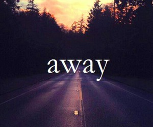away, love, and photography image