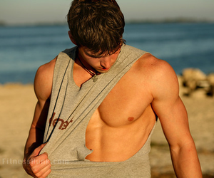 Hot, abs, and guys image