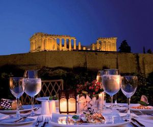 Greece, Athens, and romantic image