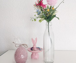 bunnie, candle, and decor image