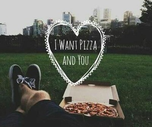 pizza, love, and you image