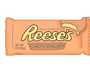 overlay, pastel, and reeses image
