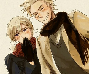 aph, norway, and yaoi image