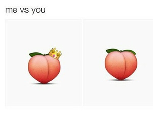butt, fun, and emoji image