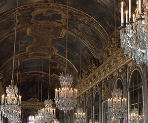 baroque, chateau de versailles, and church image