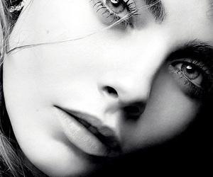 model, cara delevingne, and eyes image