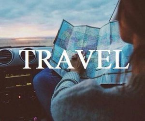 travel, map, and world image