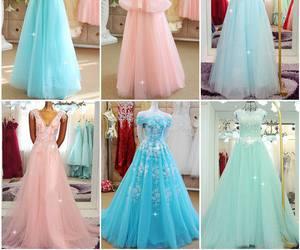 dresses, fashion, and promdress image