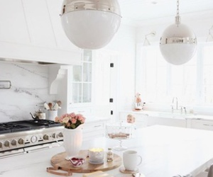 countertop, decoration, and flowers image