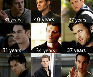 the vampire diaries, tvd, and boy image
