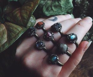 rings, indie, and vintage image