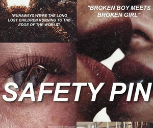 5sos, safety pin, and 5 seconds of summer image