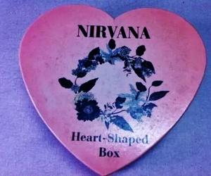 nirvana, heart, and grunge image