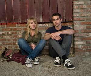 the first time, britt robertson, and dylan o'brien image