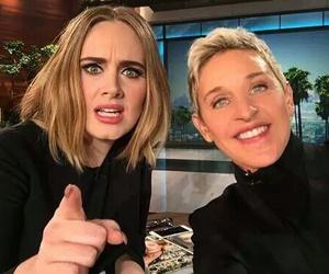 Adele and ellen image