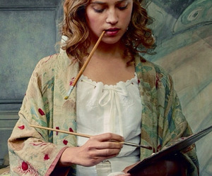 alicia vikander, the danish girl, and art image