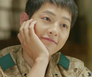 song joong ki, kdrama, and descendants of the sun image
