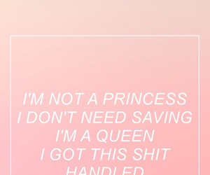 Queen, princess, and pink image
