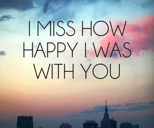 miss, happy, and you image