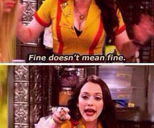 fine, funny, and 2 broke girls image