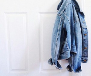 denim, denim jacket, and jacket image