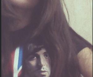 brown hair, lips, and england flag image