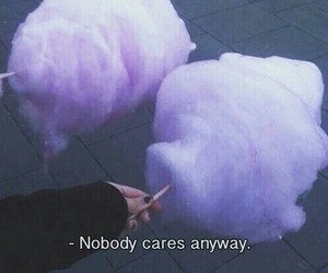 cotton candy, grunge, and nobody cares image