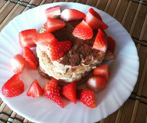 breakfast, morning, and pancakes image