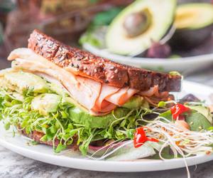 avocado, food, and sandwich image