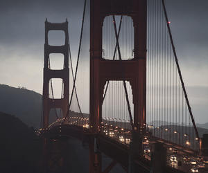 san francisco, bridge, and travel image