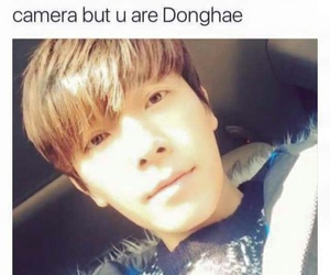 donghae, funny, and kpop image