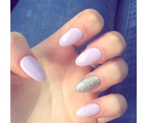 nails, sparkly, and spring image