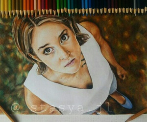 drawing, divergent, and Shailene Woodley image