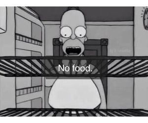 food, simpsons, and funny image
