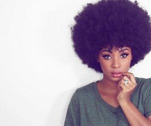 Afro, model, and black woman image