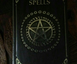 spells, witch, and book image