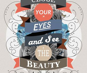 beauty, quotes, and eyes image