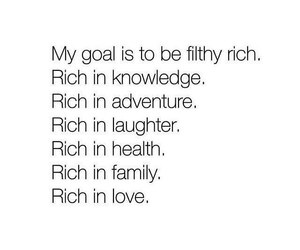 quote, goals, and rich image