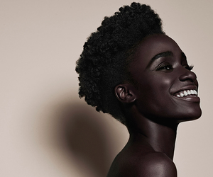 black woman, face, and pretty image