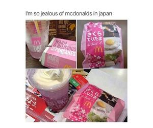 pink, japan, and food image