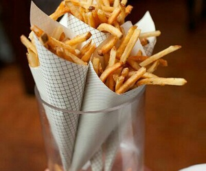 food, French Fries, and girly image