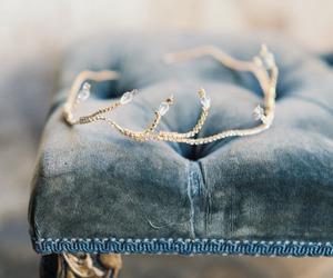 crown, pastel, and vintage image