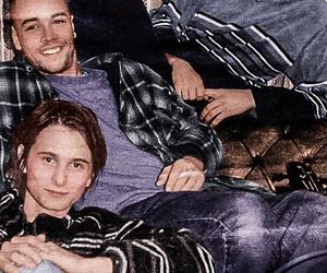 muse, chris wolstenholme, and Matt Bellamy image