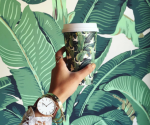 accessories, watch, and coffee image