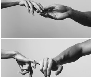 love, hands, and black and white image