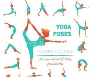 yoga, fitness, and pose image